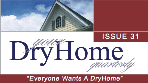 DryHome Newsletter Nameplate