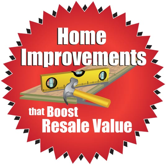 Best Value Home Improvements: Top 5 Home Improvements To Boost Resale Value