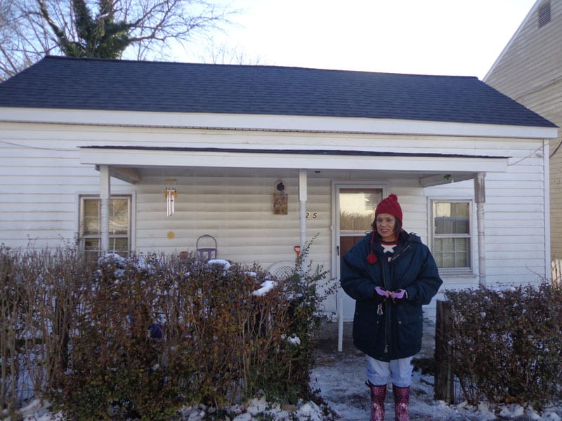New Roof Helps Homeless Advocate Continue Her Work