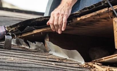 Roof Leak Causes causes of a leaking roof - it's probably the flashing