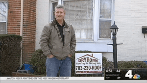 Fairfax County Single Mom with Three Kids Wins Free Roof from DryHome Roofing