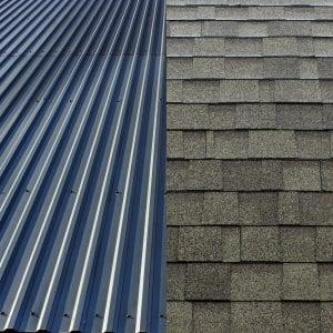 metal vs asphalt shingles
